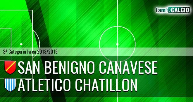 San Benigno Canavese - Atletico Chatillon
