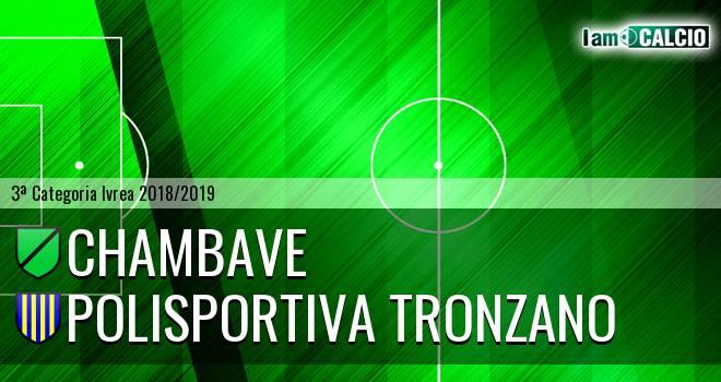 Chambave - Polisportiva Tronzano