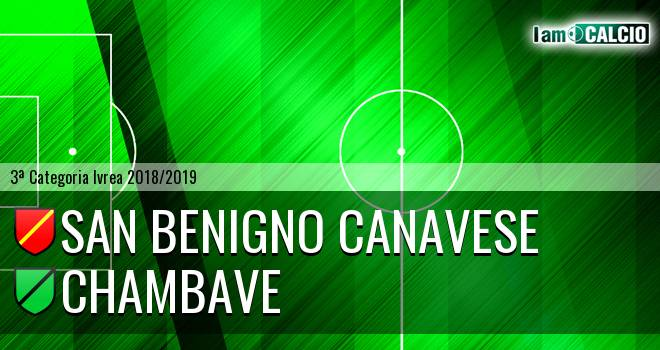 San Benigno Canavese - Chambave