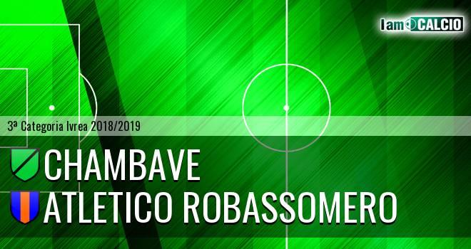 Chambave - Atletico Robassomero