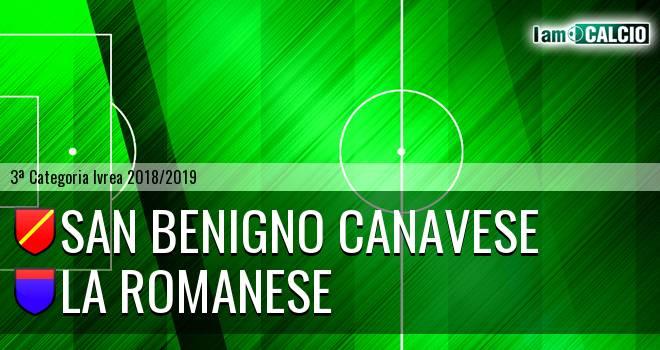 San Benigno Canavese - La Romanese