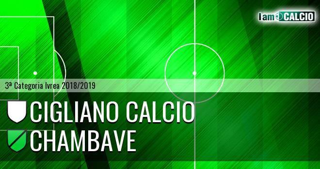 Cigliano Calcio - Chambave
