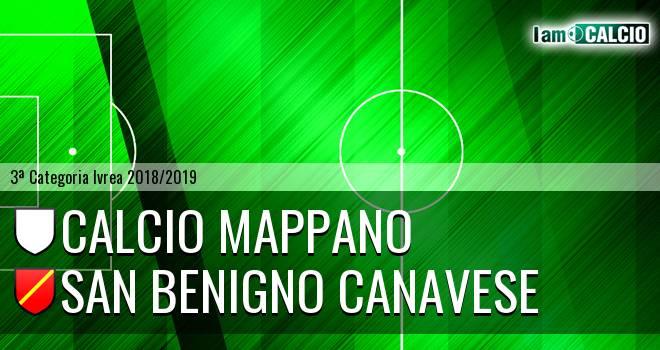 Calcio Mappano - San Benigno Canavese