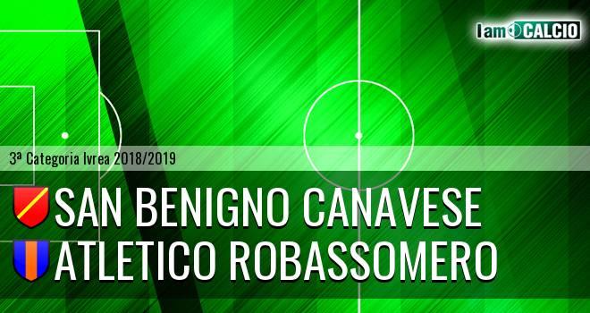 San Benigno Canavese - Atletico Robassomero
