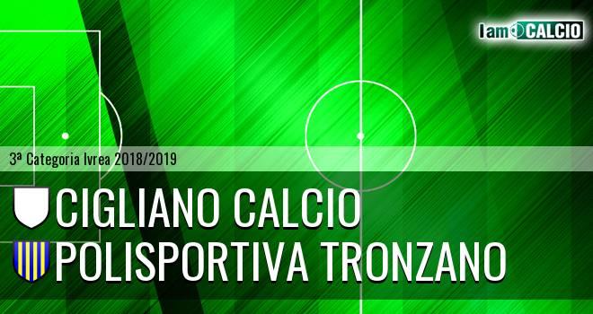 Cigliano Calcio - Polisportiva Tronzano
