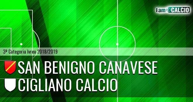 San Benigno Canavese - Cigliano Calcio