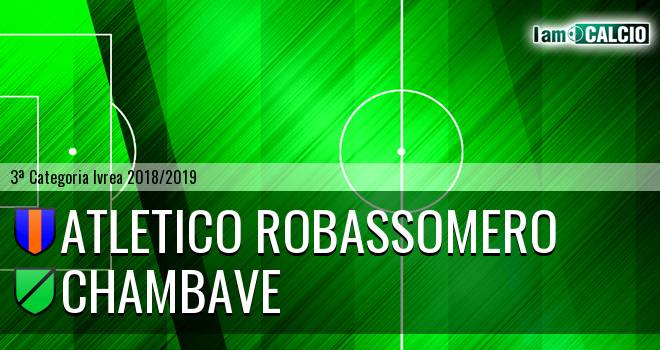 Atletico Robassomero - Chambave