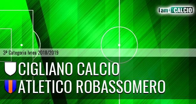 Cigliano Calcio - Atletico Robassomero