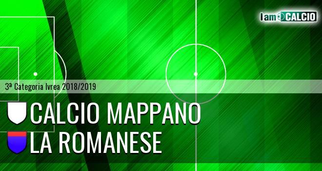 Calcio Mappano - La Romanese