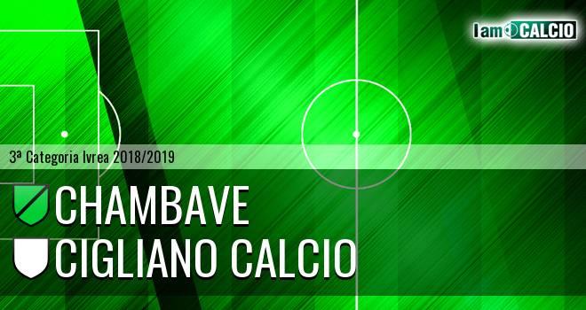 Chambave - Cigliano Calcio