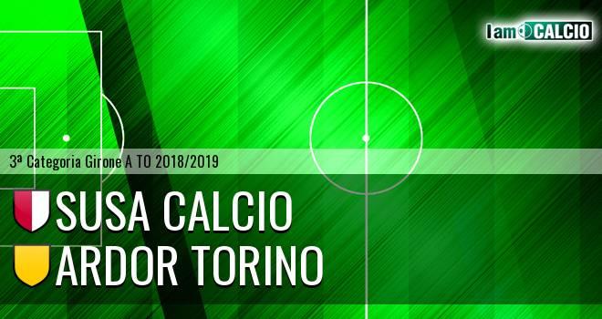 Susa Calcio - Ardor Torino