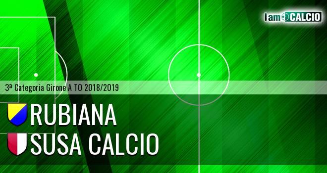 Rubiana - Susa Calcio
