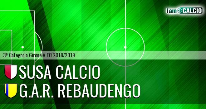 Susa Calcio - G.A.R. Rebaudengo