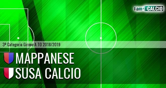 Mappanese - Susa Calcio