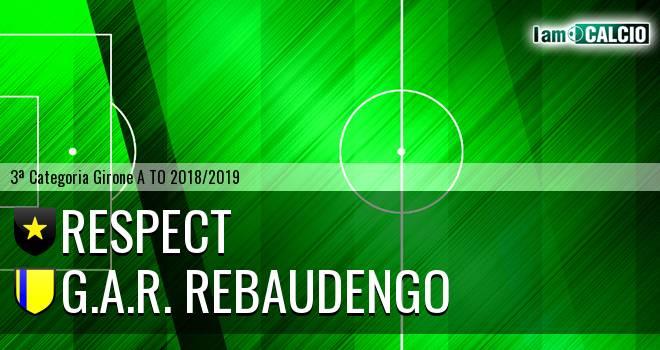 Respect - G.A.R. Rebaudengo