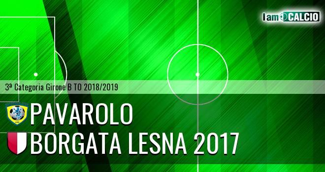 Pavarolo Calcio - Borgata Lesna 2017