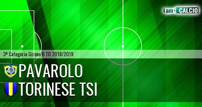 Pavarolo Calcio - Torinese TSI