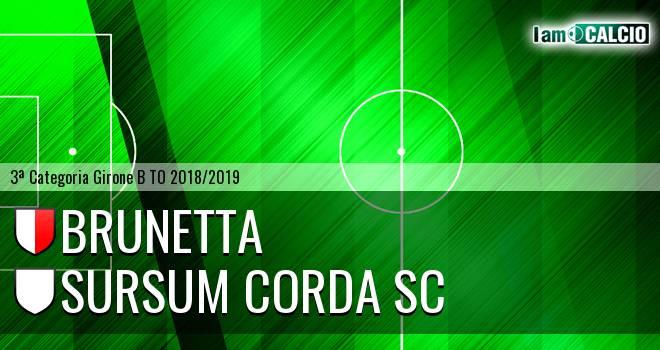 Brunetta - Sursum Corda SC