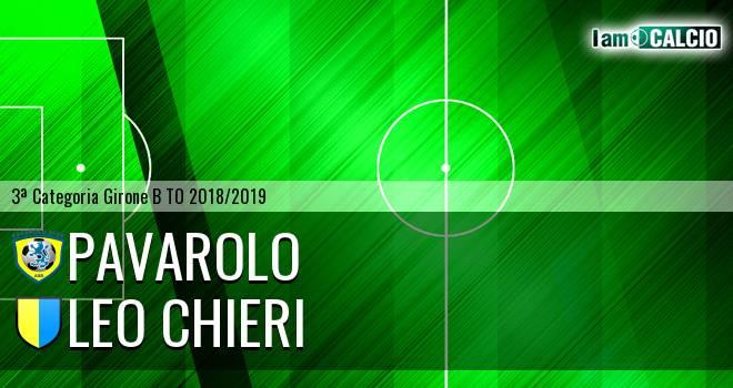 Pavarolo Calcio - Leo Chieri