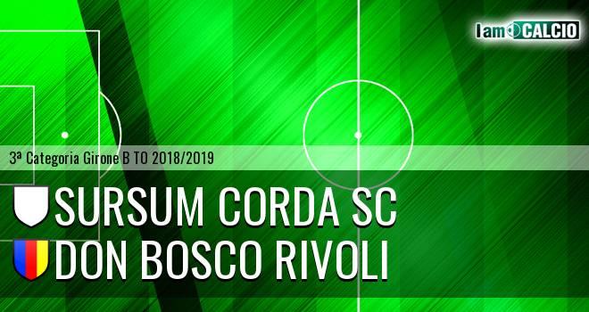 Sursum Corda SC - Don Bosco Rivoli