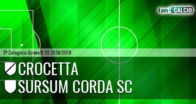 Crocetta - Sursum Corda SC