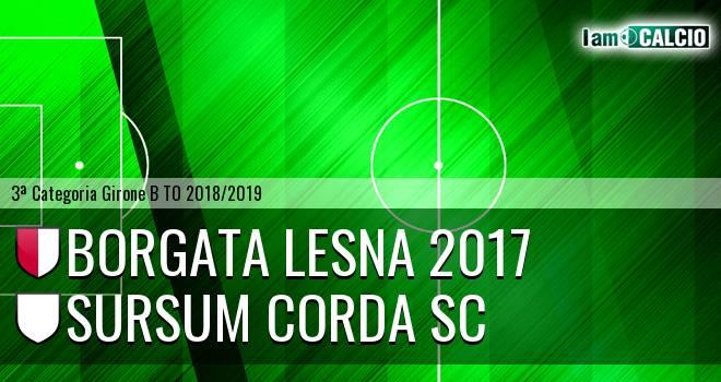 Borgata Lesna 2017 - Sursum Corda SC