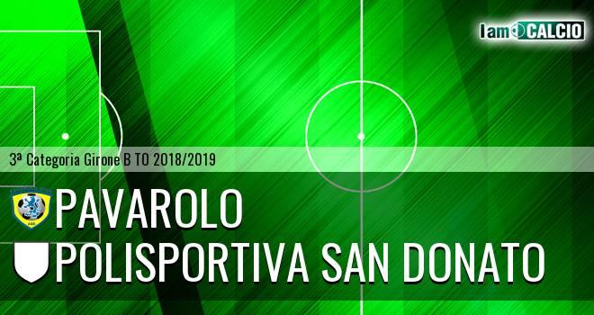 Pavarolo Calcio - Polisportiva San Donato
