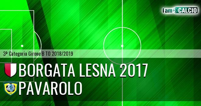 Borgata Lesna 2017 - Pavarolo Calcio