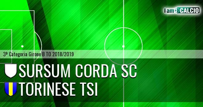 Sursum Corda SC - Torinese TSI