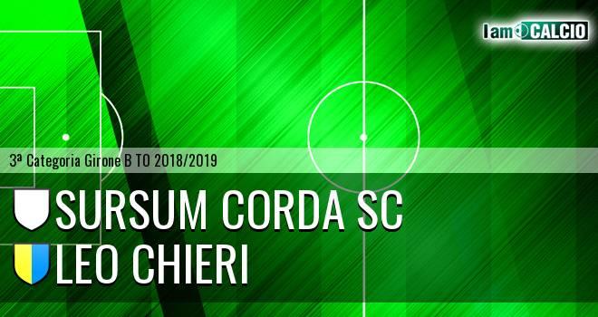 Sursum Corda SC - Leo Chieri