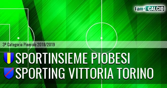 Sportinsieme Piobesi - Sporting Vittoria Torino