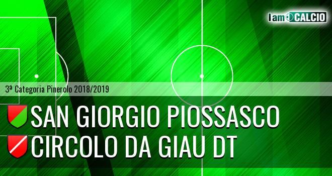 San Giorgio Piossasco - Circolo Da Giau DT