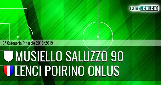 Musiello Saluzzo 90 - Lenci Poirino Onlus