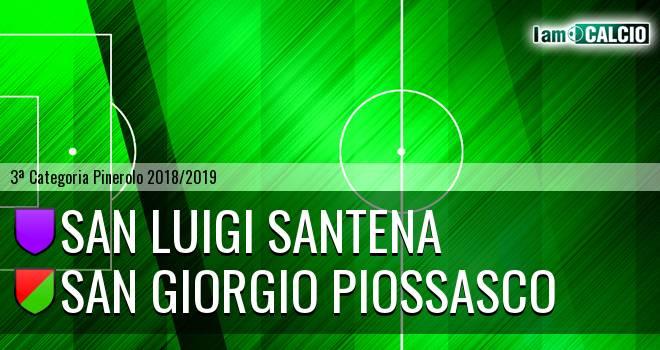 San Luigi Santena - San Giorgio Piossasco
