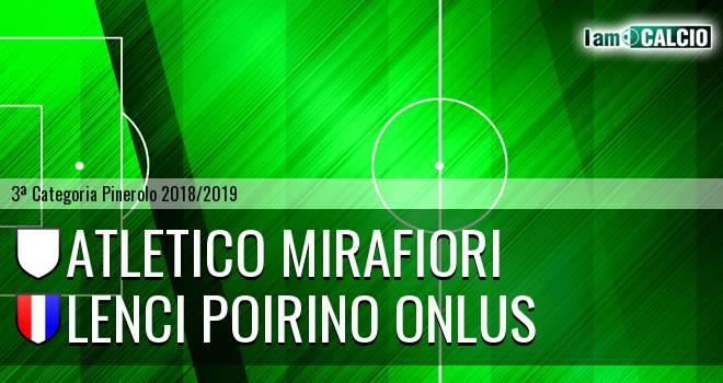 Atletico Mirafiori - Lenci Poirino Onlus