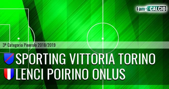Sporting Vittoria Torino - Lenci Poirino Onlus