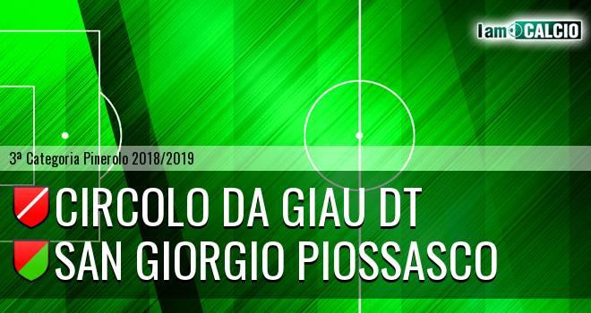 Circolo Da Giau DT - San Giorgio Piossasco