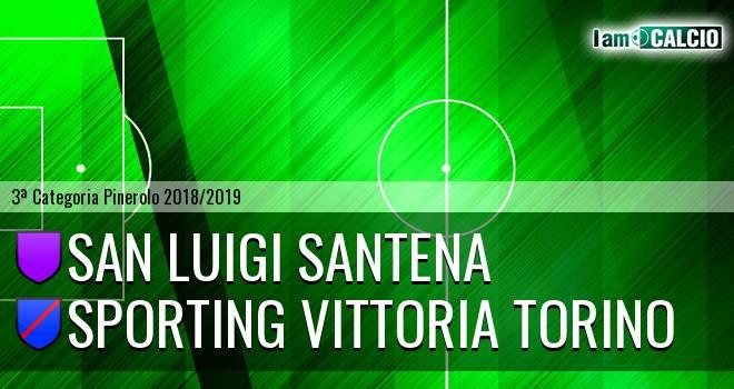 San Luigi Santena - Sporting Vittoria Torino