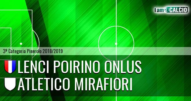 Lenci Poirino Onlus - Atletico Mirafiori