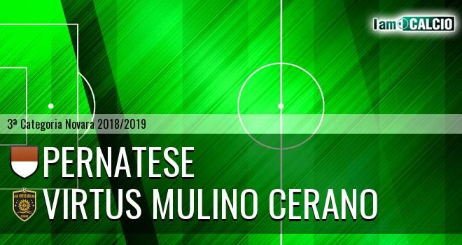 Pernatese - Virtus Mulino Cerano