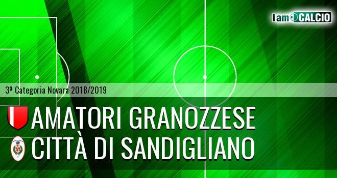Amatori Granozzese - Città di Sandigliano