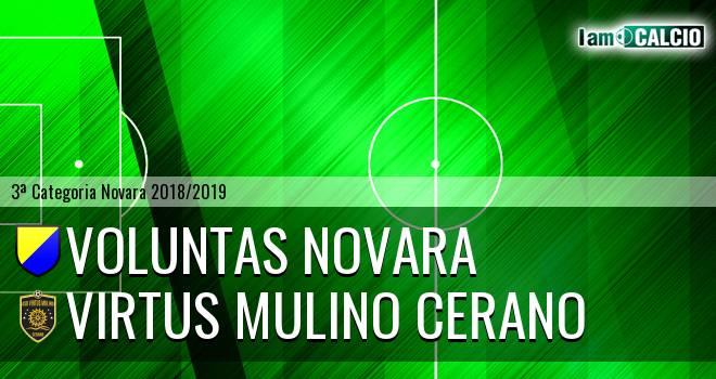 Voluntas Novara - Virtus Mulino Cerano