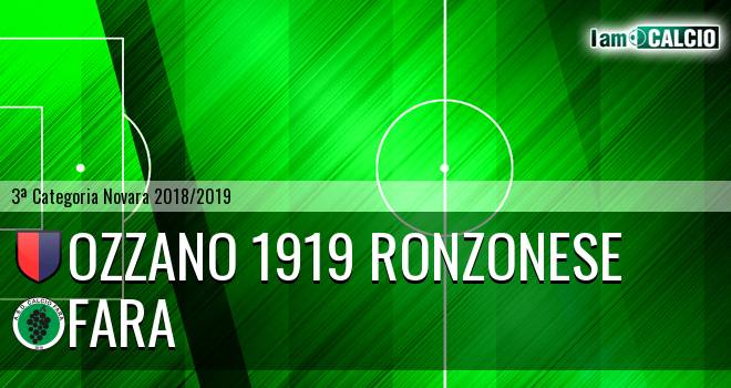Ozzano 1919 Ronzonese - Fara