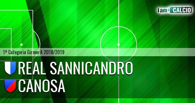Real Sannicandro - Canosa