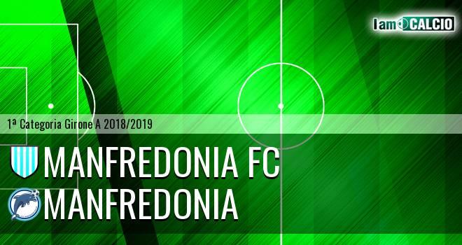 Manfredonia FC - Manfredonia Calcio 1932 2-6. Cronaca Diretta 02/12/2018