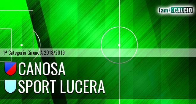 Canosa - Sport Lucera