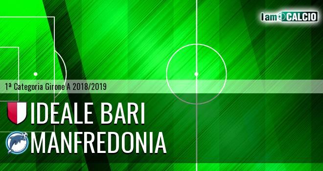 Ideale Bari - Manfredonia Calcio 1932 0-2. Cronaca Diretta 16/12/2018