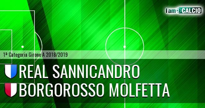 Real Sannicandro - Borgorosso Molfetta