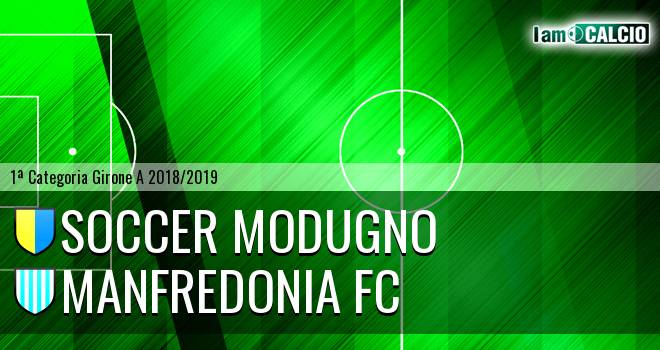 Soccer Modugno - Manfredonia FC
