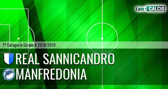 Real Sannicandro - Manfredonia Calcio 1932